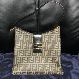Authentic Vintage Fendi Zucca PVC Purse